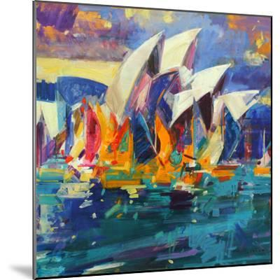 Sydney Flying Colours, 2012-Peter Graham-Mounted Giclee Print