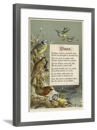 Winter--Framed Giclee Print