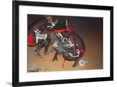 Aboriginal Tribe--Framed Photographic Print