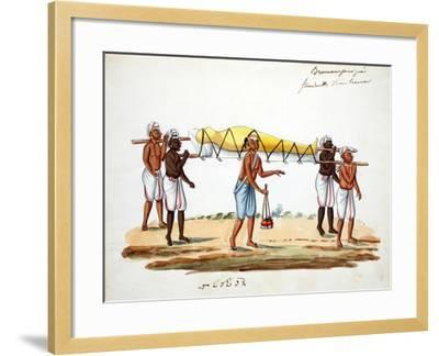 Brahman Funeral Procession--Framed Giclee Print