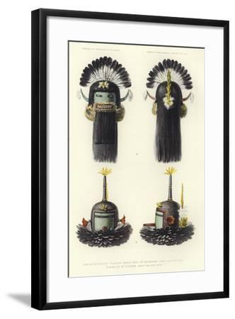Mask of Kokko Thlanna--Framed Giclee Print