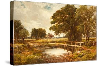 A Hampshire Ford, 1891-Edmund Morison Wimperis-Stretched Canvas Print