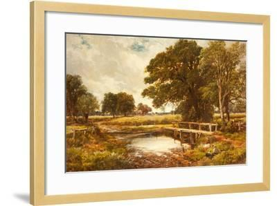 A Hampshire Ford, 1891-Edmund Morison Wimperis-Framed Giclee Print