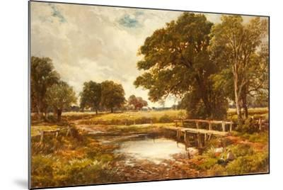 A Hampshire Ford, 1891-Edmund Morison Wimperis-Mounted Giclee Print