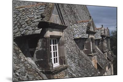 Roof Windows, Conros Castle--Mounted Giclee Print
