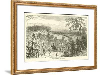The Advance on Port Gibson, April 1863--Framed Giclee Print