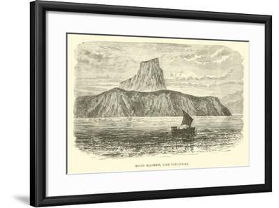 Mount Malommbi, Lake Tanganyika--Framed Giclee Print
