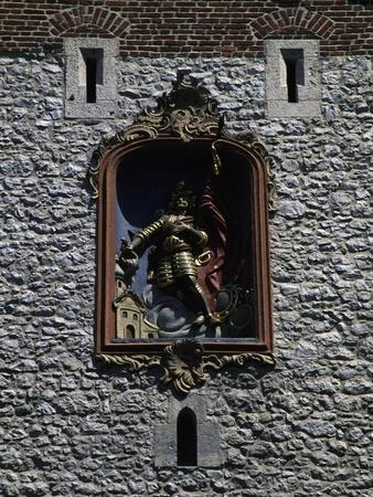 Bas-Relief of St Florian--Framed Giclee Print