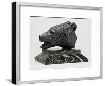 Bear's Head, C.1900-John Macallan Swan-Framed Giclee Print
