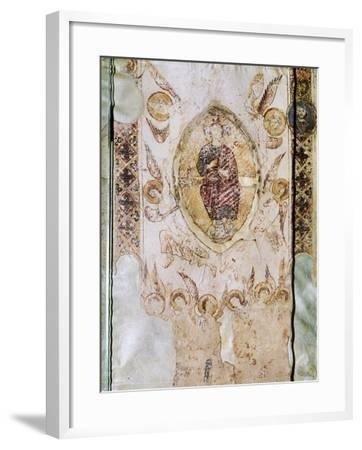 Miniature from the Exultet--Framed Giclee Print