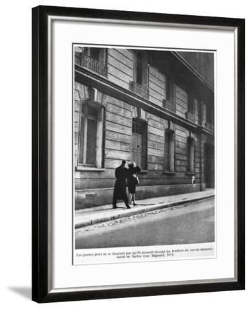 Birthplace of Jean-Paul Sartre--Framed Photographic Print
