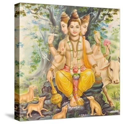 Vishnu--Stretched Canvas Print