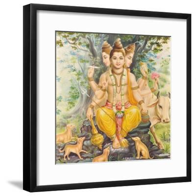 Vishnu--Framed Giclee Print