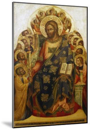 Jesus and St Peter-Lorenzo Veneziano-Mounted Giclee Print