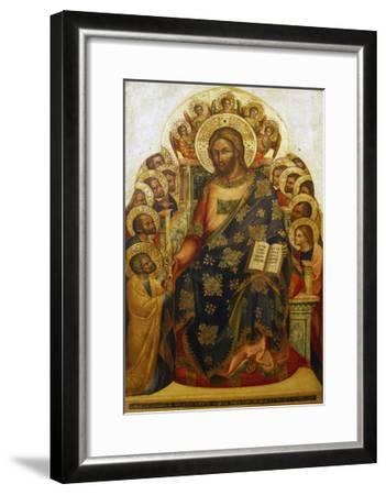 Jesus and St Peter-Lorenzo Veneziano-Framed Giclee Print