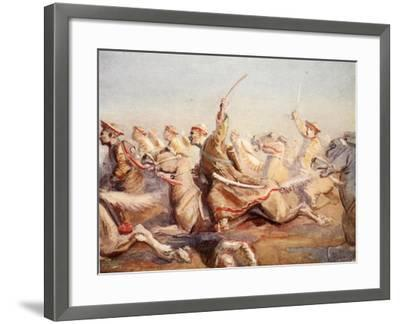 The Loss of Acre--Framed Giclee Print