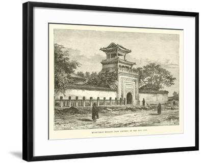 Mussulman Mosque, Now Disused, in the Red City--Framed Giclee Print