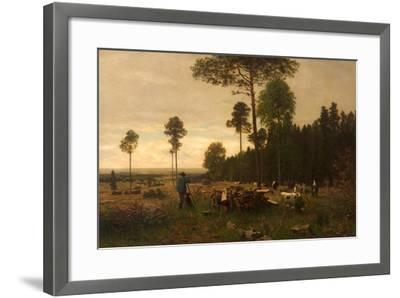 The Edge of a Bavarian Forest, Germany, 1874-Carl Irmer-Framed Giclee Print