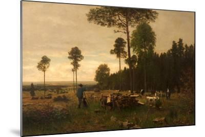 The Edge of a Bavarian Forest, Germany, 1874-Carl Irmer-Mounted Giclee Print
