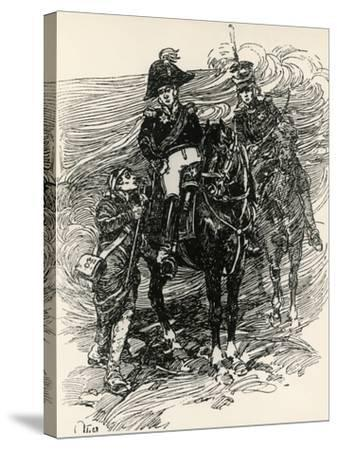 Illustration to War and Peace, by Leo Tolstoy--Stretched Canvas Print