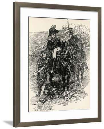 Illustration to War and Peace, by Leo Tolstoy--Framed Giclee Print