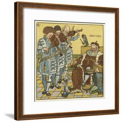 King Cole-Walter Crane-Framed Giclee Print