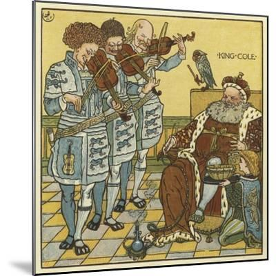 King Cole-Walter Crane-Mounted Giclee Print