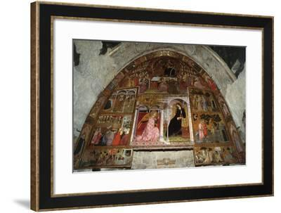 Apparition and Pardon of Assisi--Framed Giclee Print