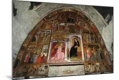 Apparition and Pardon of Assisi--Mounted Giclee Print