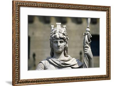Statue of Liberty--Framed Giclee Print
