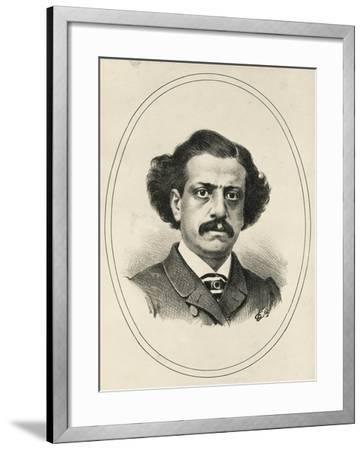 Portrait of Michele Bozzo--Framed Giclee Print