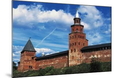 View of City Wall with Kokuj Tower--Mounted Giclee Print