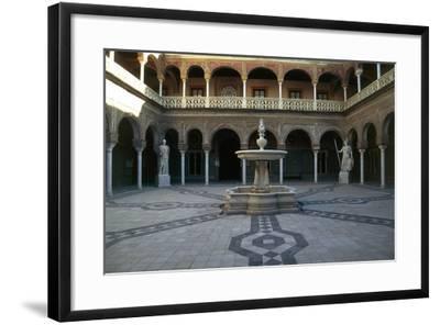 Patio, Pilate's House--Framed Giclee Print