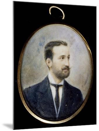 Michele Cilea, Brother of Francesco Cilea--Mounted Giclee Print