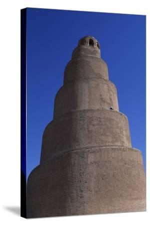 Spiral Minaret, Abu Dulaf Mosque--Stretched Canvas Print