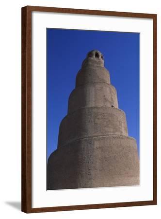 Spiral Minaret, Abu Dulaf Mosque--Framed Giclee Print