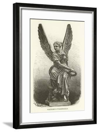 Victory, Valhalla--Framed Giclee Print