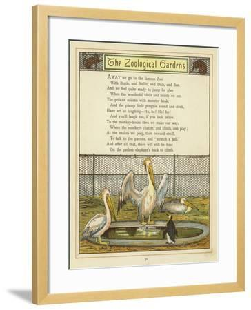 The Zoological Gardens-Thomas Crane-Framed Giclee Print