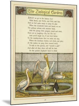 The Zoological Gardens-Thomas Crane-Mounted Giclee Print