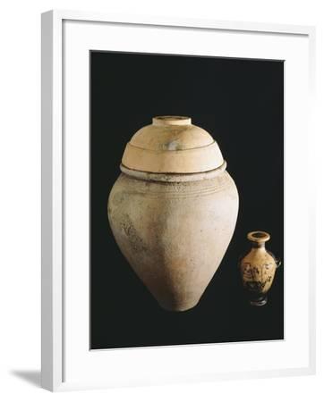 Ossuary from Spina--Framed Giclee Print