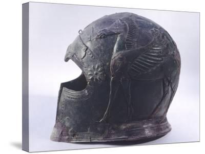 Bronze Helmet, Asso--Stretched Canvas Print