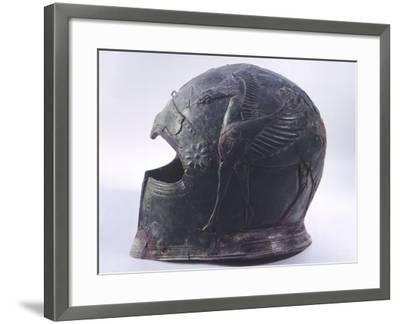 Bronze Helmet, Asso--Framed Photographic Print