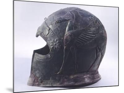 Bronze Helmet, Asso--Mounted Photographic Print