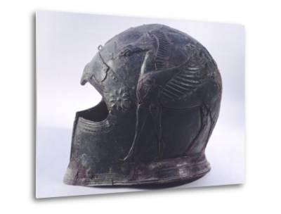 Bronze Helmet, Asso--Metal Print