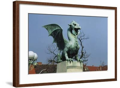 Dragon-Jurij Zaninovic-Framed Giclee Print
