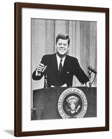 President John F. Kennedy, 1962--Framed Photographic Print