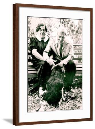 Boris Pasternak--Framed Photographic Print