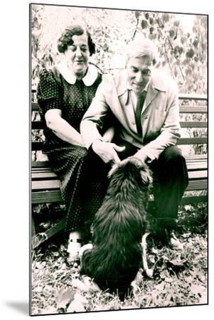 Boris Pasternak--Mounted Photographic Print