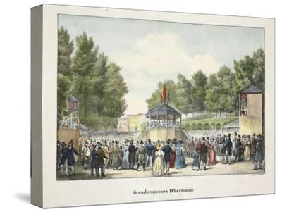 Grand Concours D'Harmonie, C.1895--Stretched Canvas Print