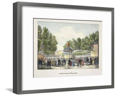 Grand Concours D'Harmonie, C.1895--Framed Giclee Print